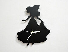 Princess Fairytale Silhouette - Wall Clock
