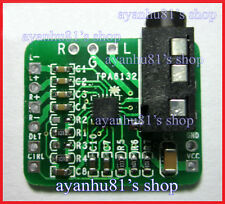 Differential-balanced Stereo Headphone Amplifier Board TPA6132 Hifi Amp for BT