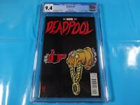 CGC Comic graded 9.4 run the jewels death of deadpool #45 Key issue