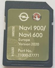Carte SD GPS Opel NAVI600 NAVI900 Europe 2020
