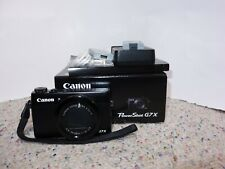 Canon PowerShot G7 X 20.2MP Digital Camera - Black + EXTRA!!