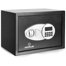 Security Safe Box 2-Layer Safety Cabinet w/Electronic Digital Keypad Deposit Box