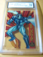 WAR MACHINE 1994 MARVEL UNIVERSE SUSPENDED ANIMATION # 9/10  GRADED 10