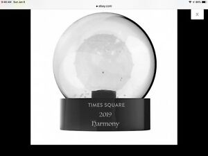 Waterford Crystal 2019 Times Square Snowglobe This Could Be The Last One.
