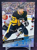 2020-2021 Upper Deck Series 2 Young Guns ANTHONY ANGELLO #472 Pittsburgh Pens RC