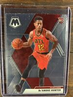 2019-20 PANINI MOSAIC BASKETBALL #239 De'ANDRE HUNTER ROOKIE CARD HAWKS RC NBA