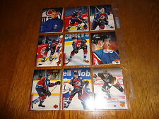 1995/96 UD SERIES 1 BASE HOCKEY SET 1-270