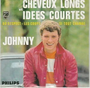 CD  JOHNNY  HALLYDAY : CHEVEUX LONGS et IDEES COURTES  Neuf Scellé