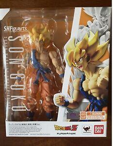 Bandai S.H Figuarts Dragonball Z Son Goku Super Warrior Awakening Ver.