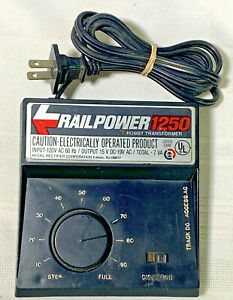 Railpower 1250 Hobby Transformer