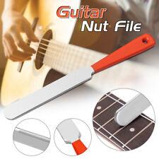 Gitarre Bundfeile Fret File Werkzeug Gitarrenteile Schmal Dual Cutter Bauer Nut