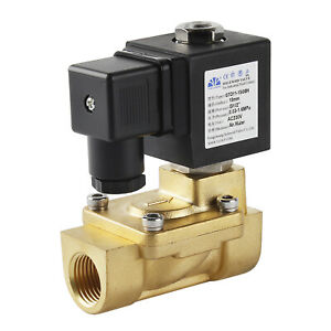 Magnetventil 1/8-1 Zoll 2Wege AC230V/DC12V/24V NC/NO Wasser Luft Gas Ventil IP65