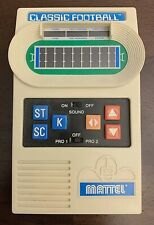 Mattel CLASSIC FOOTBALL Vintage Electronic Handheld game 2000 WORKS