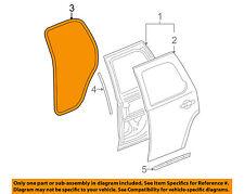 GM OEM Rear Door-Surround Weatherstrip Weather Strip Seal 22766416