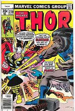 Thor #270 Bronze Age Marvel Comics US CENT COPY Walt Simonson VF/NM