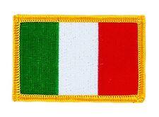 Toppe Toppa PATCH ITALIA Bandiera 7x4.5cm banderina ricamata termoadesivo