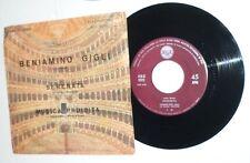 """03663 45 giri - 7"""" - Beniamino Gigli - Serenata - Musica proibita"""