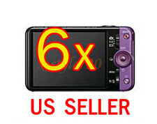 6x Sony CyberShot DSC-WX9 Camera LCD Screen Protector Guard Cover Film