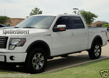 2009-2013 FORD F150 FX4 FACTORY STYLE FENDER FLARES - MATTE BLACK - 4 PIECES