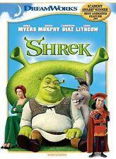 Shrek DVD Widescreen Mint Dreamworks Animated Movie Remastered