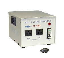 New Philmore ST1500 1500 watt 110/220 volt Step Up or Step Down Transformer