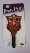 Owl Kwikset house key blank.