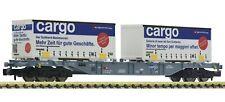 Fleischmann 825213 | Containertragwagen 2x Bertschi EpVI Spur N