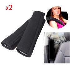 2Pcs Car Seat Belt Cover Shoulder Safety Carbon Fiber Cushion Soft Harness Pad
