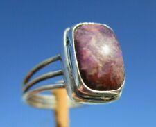 Sugilith aus Südafrika Ring Gr. 16,25 - Silber 925 !