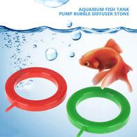 1x Plastic Air Pump Bubble Stone Aquarium Fish Tank Pump Hydroponic Oxygen Plate