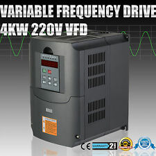 4KW VFD VARIATEUR DE FRéQUENCE SOLUTIONS RATTING 220-250V HIGH EFFICIENCY