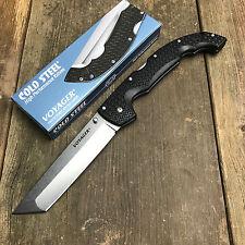 Cold Steel XL Voyager Tanto Point Plain Edge CTS-BD1 Lockback Knife 29TXCT