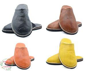 Babouche slippers men sheepskin slippers men house slippers Moroccan slippers