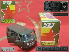 Vintage Legendary Car model UAZ 452 B diecast 1:43 A41 made in USSR Soviet Union