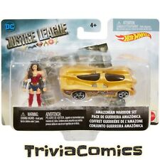 Hot Wheels DC Comics Justice League Wonder Woman Amazonian Warrior Set