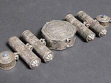 Antique Bracelet ethnique en argent massif, Afghanistan