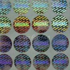 Security Hologram ORIGINAL Label Tamper Proof Stickers Anti-fake Stickers 1000pc