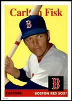 Carlton Fisk 2019 Topps Archives 5x7 #15 /49 Red Sox