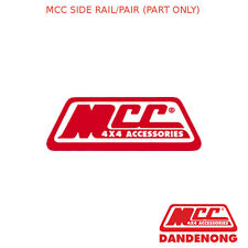 MCC BULLBAR SIDE RAIL/PAIR (PART ONLY)