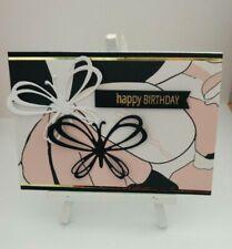 Handmade Birthday Day Card: Modern Butterfly
