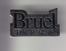 RARE PINS PIN'S .. MUSIQUE MUSIC STAR CINEMA PATRICK BRUEL SHOW TOUR 94 95 ~DT
