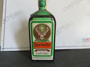 AMARO JAGERMAISTER  Vintage 75cl Bottiglia sigillata