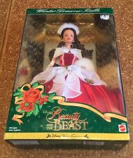 1998 Disney Winter Dreams Belle Barbie doll NRFB Beauty & the Beast
