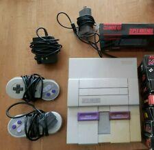 Super Nintendo Entertainment Game + Accessories