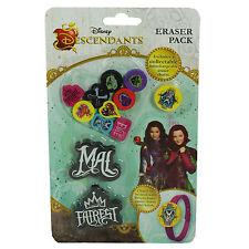 Disney Descendants Novelty Eraser Pack Includes Collectable Interchangable Erase