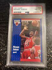 Michael Jordan #29 - 1991 Fleer - PSA 8 NM-MT