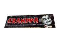 1960's The Munsters TV Show Grandpa Design Distressed Old Pallet Wood Sign