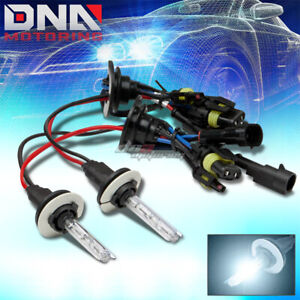 9005 6000K XENON HID ICE BLUE HIGH BEAM HEADLIGHT/35W LIGHT BULB ISUZU HONDA GMC