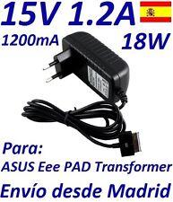 Cargador Corriente 15V Tablet Asus EEE Pad Transformer A1 B1 TF101 TF101G