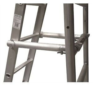 Gorilla SCAFFOLD LADDER STAND OFF ARMS Suit 9ft Straight Ladder, Aluminium